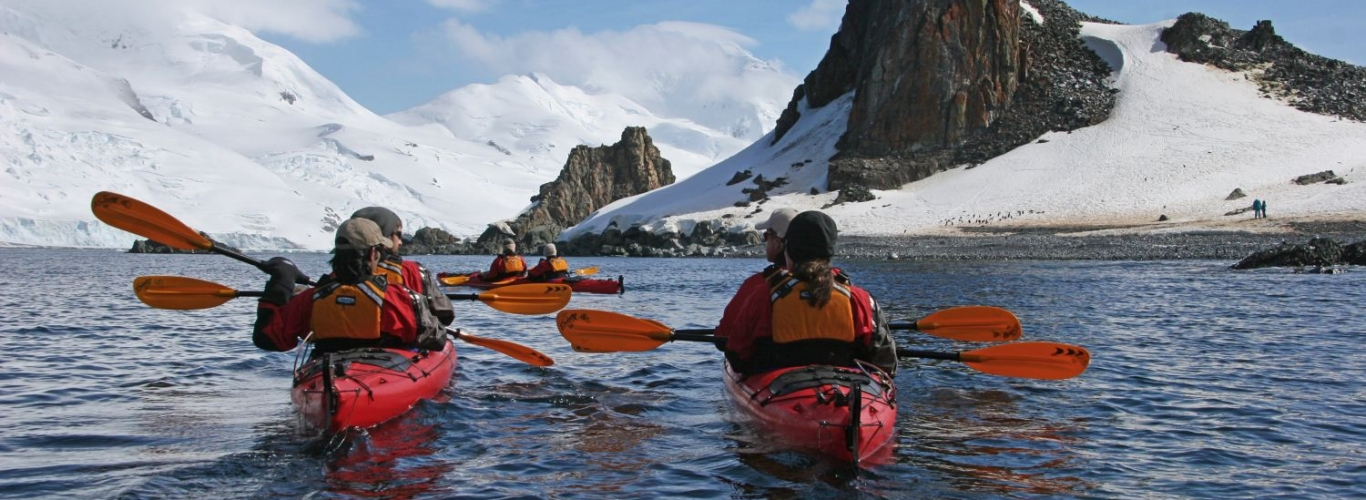Antarctica Kayak Condor Travels