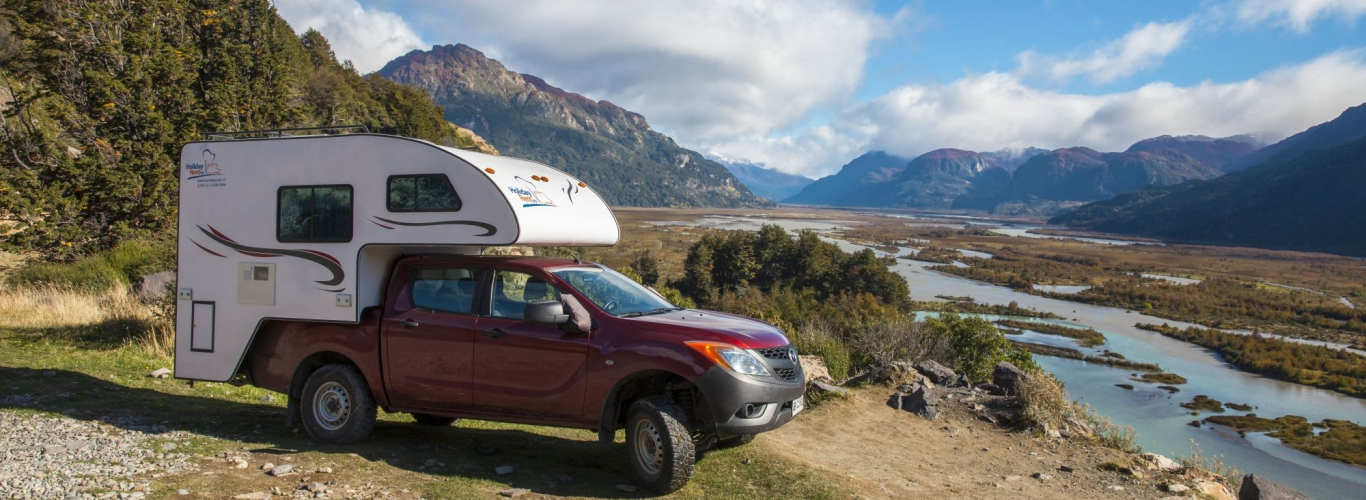 patagonia double cabin camper huren in Chili